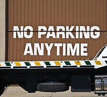 No Parking Anytime by Marnie Hibbert