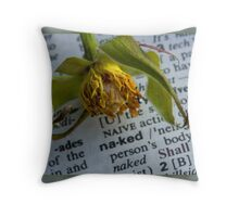 Naked! Throw Pillow