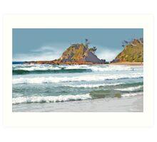 The Pass Byron Bay Art Print