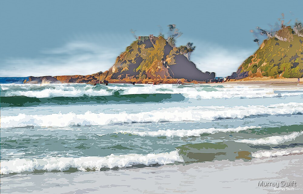 The Pass Byron Bay by Murray Swift