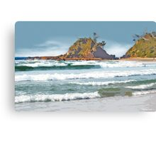 The Pass Byron Bay Canvas Print