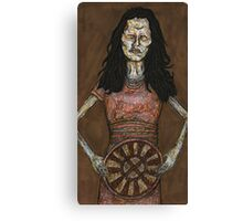 Inca Mummy Girl - Ampata - BtVS Canvas Print