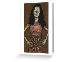 Inca Mummy Girl - Ampata - BtVS Greeting Card