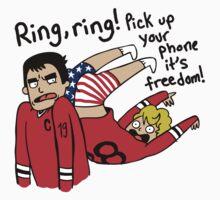 Patrick Kane's Freedom Phone T-Shirt