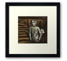 Reptile Boy - Demon - BtVS Framed Print