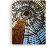 Progress Saves History - Melbourne Central, Melbourne Australia Canvas Print