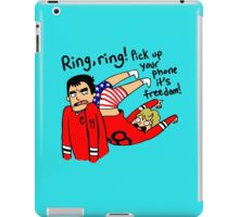 Patrick Kane's Freedom Phone iPad Case/Skin