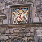 Coat of Arms - Crest, Edinburgh Castle by anaisnais