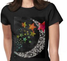 Dark Moon Womens Fitted T-Shirt