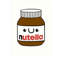 Nutella monster Art Print