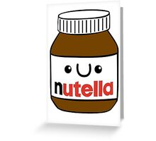 Nutella monster Greeting Card
