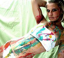 Felicia my canvas by Richmond