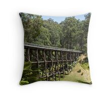 Landmark! Throw Pillow