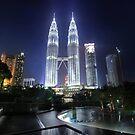The Petronas Towers by Keegan Wong