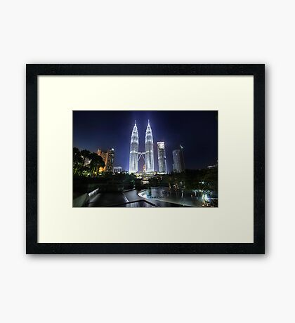The Petronas Towers Framed Print