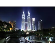 The Petronas Towers Photographic Print