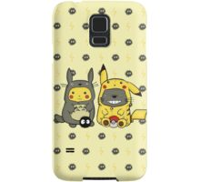 Totoro and Pikachu Onesies Samsung Galaxy Case/Skin