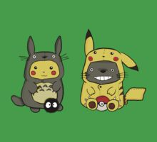Totoro and Pikachu Onesies Kids Clothes