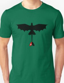 Toothless Silhouette Unisex T-Shirt