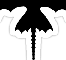 Toothless Silhouette Sticker