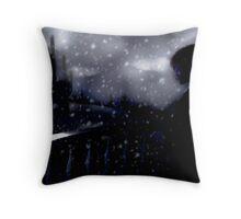 snow scene (the longing) Throw Pillow