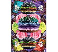 WELCOME TO GOTH BURGER  Photographic Print