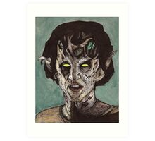 The Dark Age - Eyghon/Jenny - BtVS Art Print
