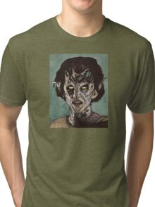 The Dark Age - Eyghon/Jenny - BtVS Tri-blend T-Shirt