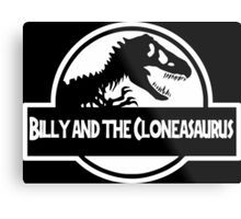 Billy And The Cloneasaurus Metal Print