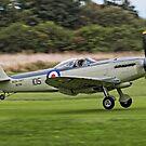 Seafire F.XVII SX336 G-KASX by Colin Smedley