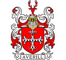 Averill Coat of Arms Photographic Print