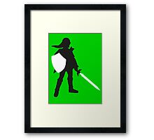 Legend of Zelda - Link  Framed Print