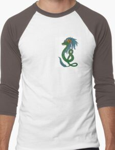 Quetzalcoatl Men's Baseball ¾ T-Shirt