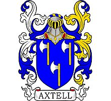 Axtell Coat of Arms Photographic Print