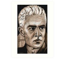 What's My Line, Part Two - Spike - BtVS Art Print