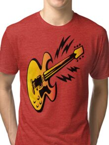 ELECTRIC GUITAR Tri-blend T-Shirt