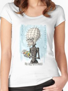 One Hell of a Puzzle Women's Fitted Scoop T-Shirt