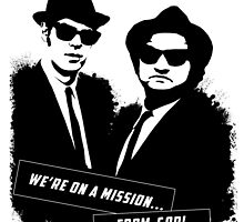 Blues Brothers Tee by cassintheimpala