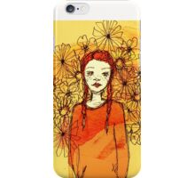 Ginger Girl iPhone Case/Skin