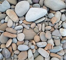 Beach Rocks by Mark Higgins