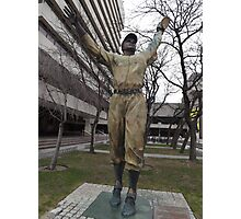 Jackie Robinson Statue, Journal Square, Jersey City Photographic Print