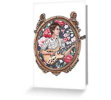 Ezra Koenig of Vampire Weekend Greeting Card