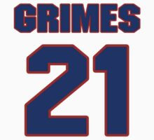 National football player Brent Grimes jersey 21 by imsport