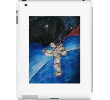 Cady, Astronaut in Space iPad Case/Skin