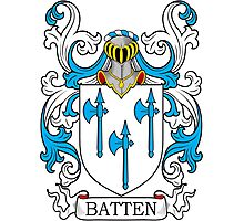 Batten Coat of Arms Photographic Print