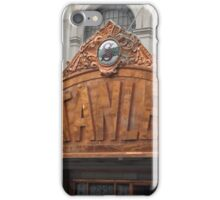 Classic Facade, Stanley Theater,  Jersey City, New Jersey iPhone Case/Skin