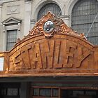 Classic Facade, Stanley Theater,  Jersey City, New Jersey by lenspiro