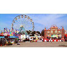Warren County A&L Fair Midway Photographic Print