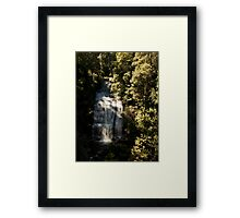 Little Aire Falls Framed Print