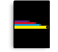 Tron Pacman Crossover Canvas Print